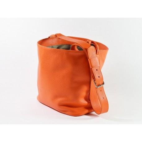 SALOUM, sac à main en cuir à bandoulière réglable, fabrication artisanale française